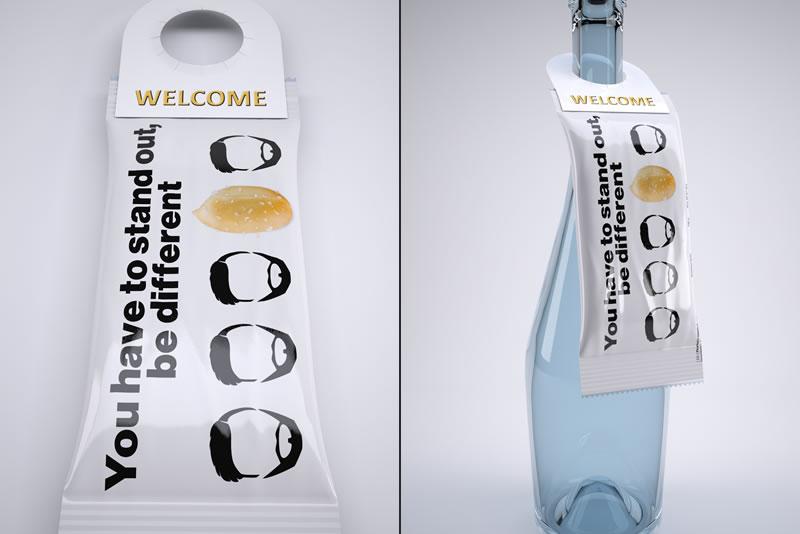 Promo snacks obešanke za steklenice